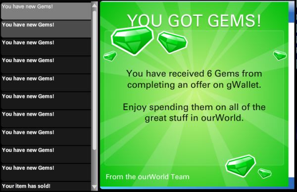 Gems codes will also be coming back, replacing the coin codes