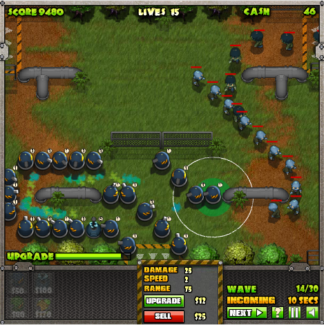 zombie tower defence games
