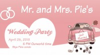 You're Invited To Skye Pie & Niloo Pie Wedding! When: 5:00pm ourWorld Time Where: Skye's Condo & Wedding Chapel Attire: Dress in Black or White This is the biggest event...