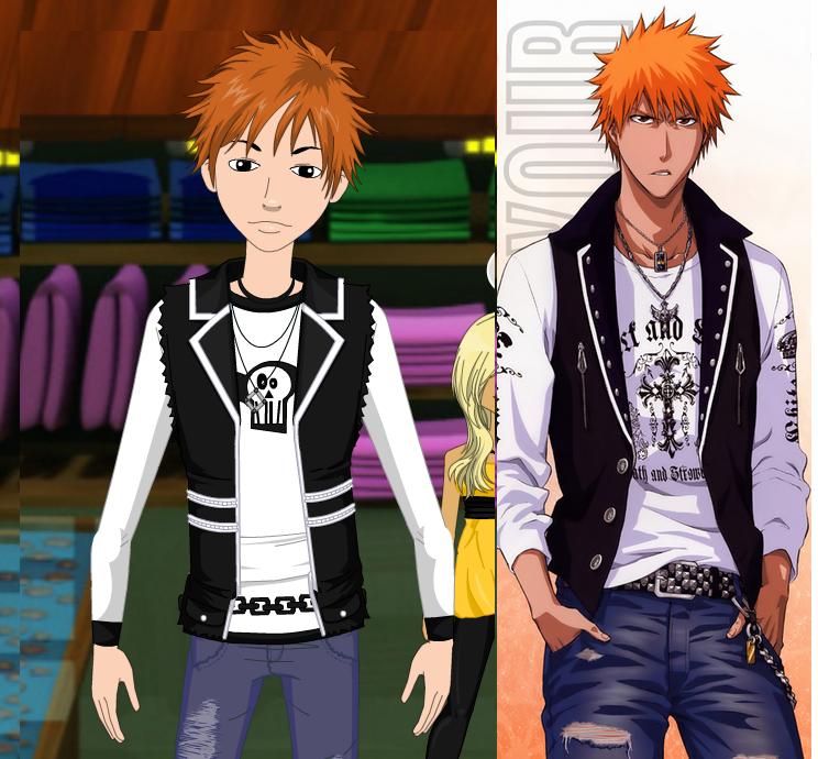 Ichigo cosplay