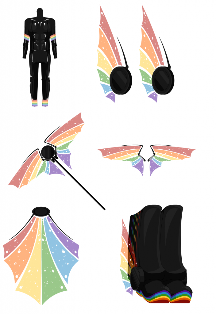 Rainbow Box - Male Outfit 007