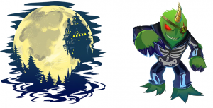 haunted house decals