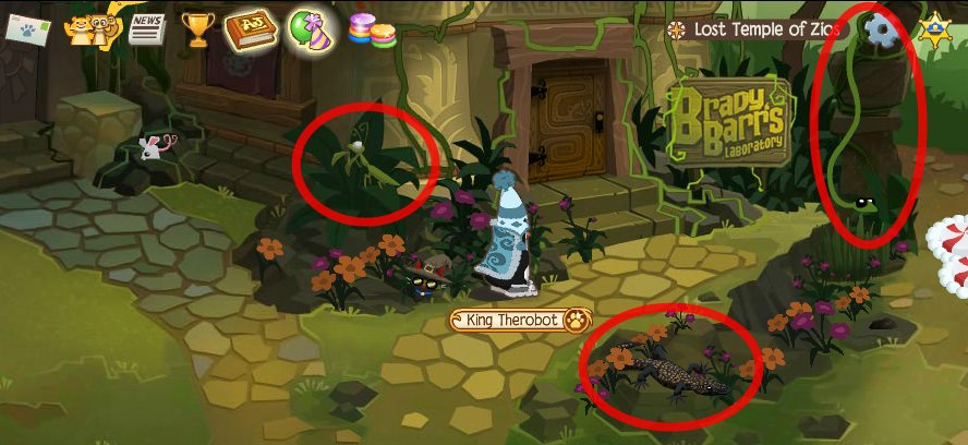 Animal Jam Journey Book Lost Temple of Zio's Snake