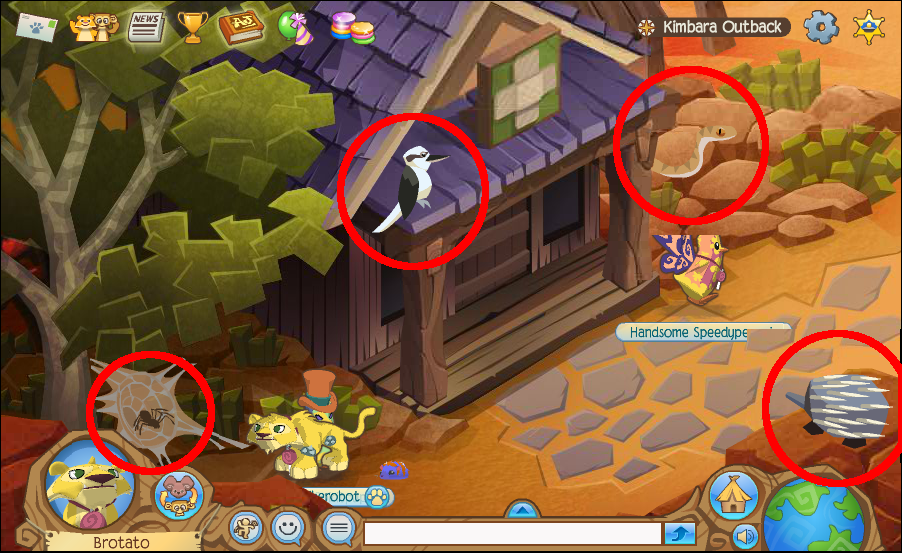 Animal Jam - Kimbara Outback Journey Book Locations | ourGemCodes