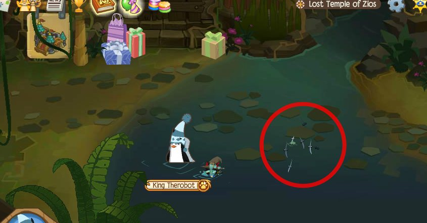 Image of: Team Zios Needlefish Ourgemcodes Animal Jam Lost Temple Of Zios Journey Book Locations Ourgemcodes