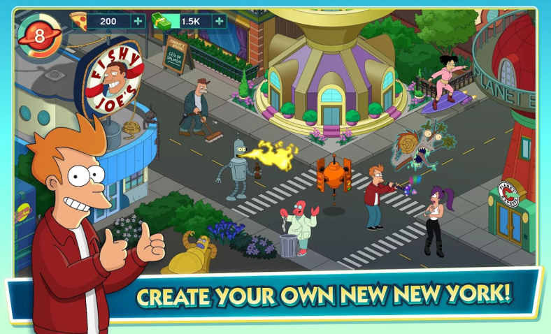 Jam City s Futurama Worlds of Tomorrow is like Simpsons Tapped Out BUT BETT