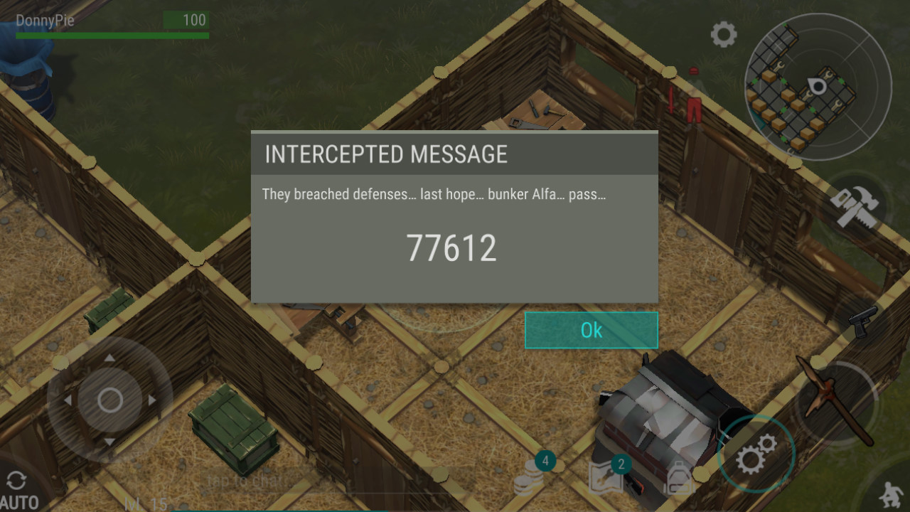 Last day on earth bunker alpha code