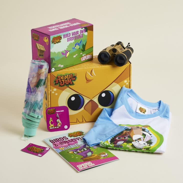 National Geographic's Animal Jam released a NEW summer box shipped