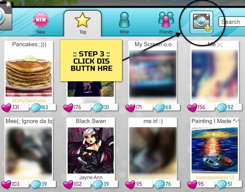 MovieStarPlanet:  Select Photo Icon